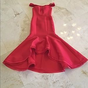 Jovani red evening gown